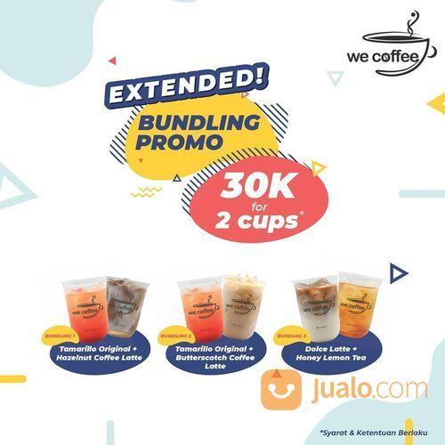 We Coffee Bundling Promo 30k for 2 Cups! (28452075) di Kota Jakarta Selatan