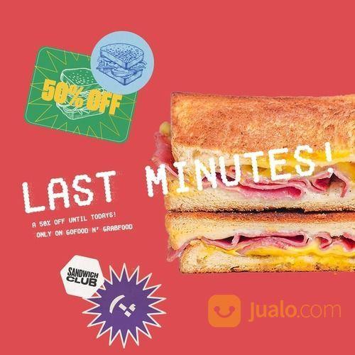 Sandwich Club Get 50% Off on Grabfood / GoFood (28452159) di Kota Jakarta Selatan