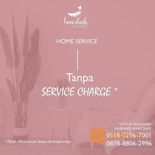 Favorlash Promo Home Service tanpa Charge* (28453411) di Kota Jakarta Selatan