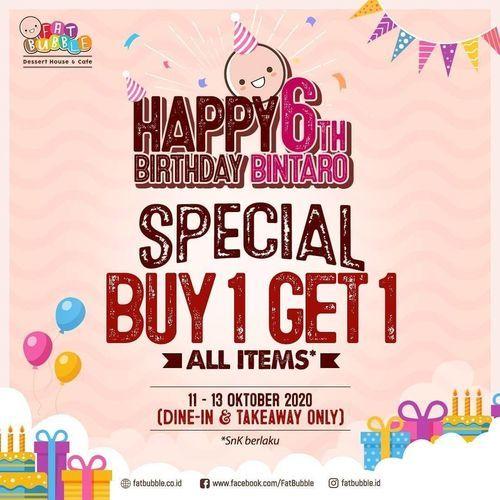 Fat Bubble Special Buy 1 Get 1 (28462651) di Kota Jakarta Selatan