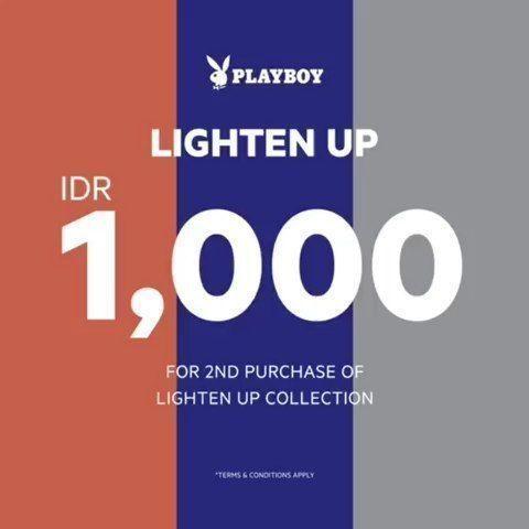 Playboy Shoes Lighten Up IDR 1.000 For 2nd Purchase (28468603) di Kota Jakarta Selatan