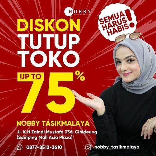 Nobby Diskon Tutup Toko Up To 75% (28468647) di Kota Jakarta Selatan