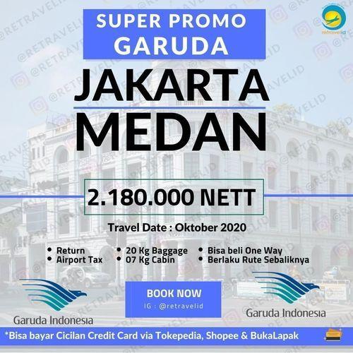 Retravelid Super Promo Garuda (28471287) di Kota Jakarta Selatan