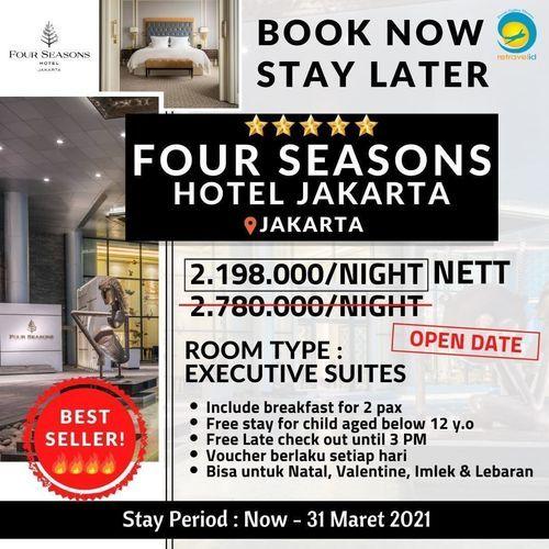 Retravelid Promo Four Season Hotel (28471355) di Kota Jakarta Selatan