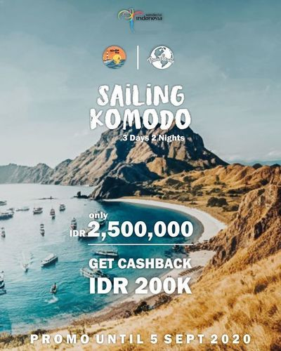 Travelube Promo Sailing Komodo (28503191) di Kota Jakarta Selatan