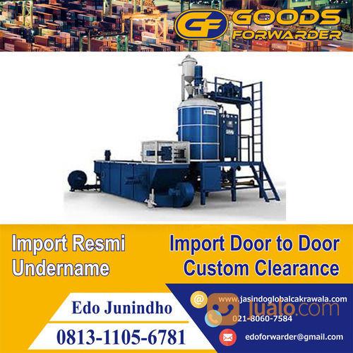 Jasa Import Mesin BARU & BEKAS   GOODS FORWARDER   PI MESIN BEKAS (28520783) di Kota Jakarta Timur