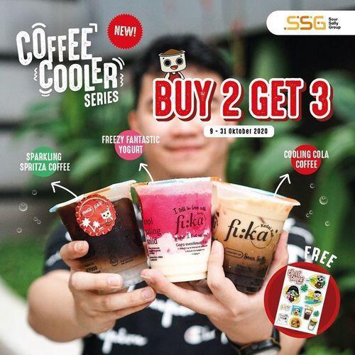 Fika Kafi Coffee BUY 2 GET 3 khusus menu Coffee Cooler Series (28525739) di Kota Jakarta Selatan