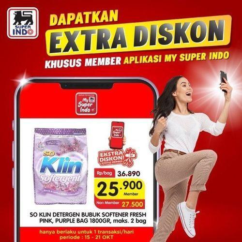 Super Indo Ekstra Diskon Member Aplikasi (28525807) di Kota Jakarta Selatan