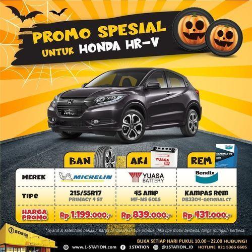 1 Station Promo Spesial Khusus Honda HRV (28538039) di Kota Jakarta Selatan