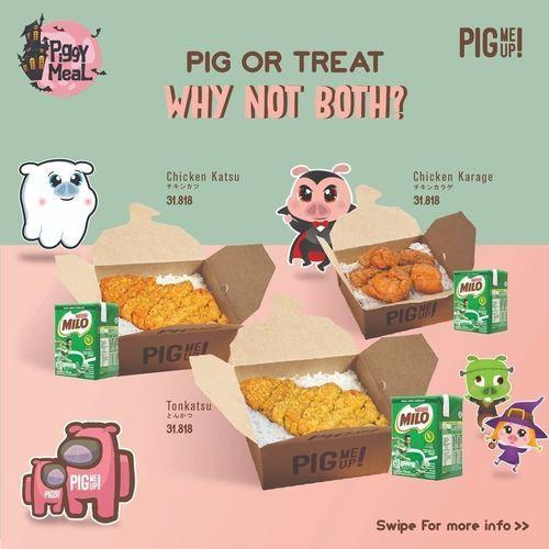Pig Me Up Promo Trick Or Treat (28538071) di Kota Jakarta Selatan