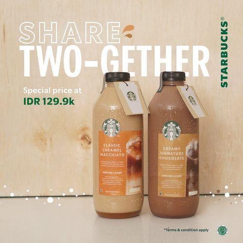 Starbucks Promo Share Two-Gether (28538095) di Kota Jakarta Selatan