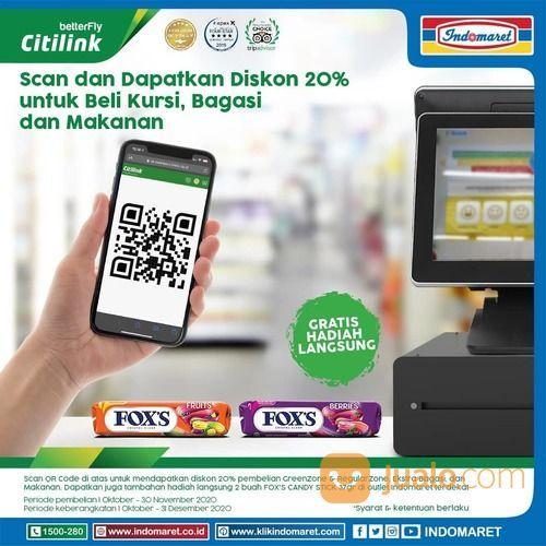 I-PAYMENT INDOMARET Bayar kode booking Citilink lebih mudah di Indomaret! (28539163) di Kota Jakarta Selatan