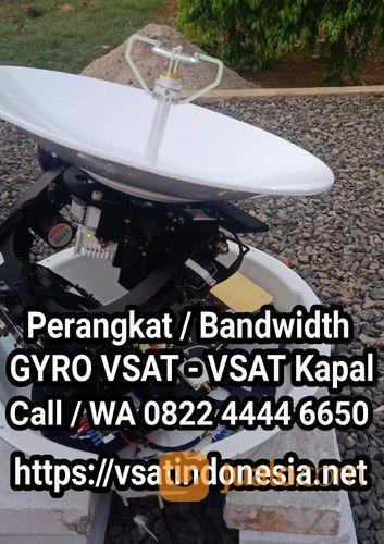 Internet Satelit VSAT Gyro - Vessel Gyro - VSAT Kapal - VSAT Maritim - Marine VSAT - Internet Kapal (28550671) di Kota Surabaya