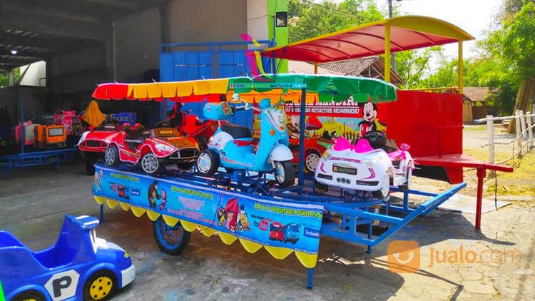 Odong Odong Kereta Panggung Mobil Motor Remot Tanpa Bordes Full Set (28563079) di Kab. Mandailing Natal