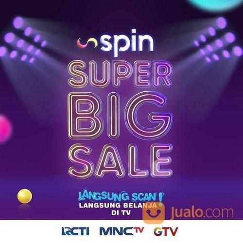 SPIN SUPER BIG SALE Diskon Flash Sale hingga 99% untuk ratusan produk elektronik laptop dan HP* (28566371) di Kota Jakarta Selatan