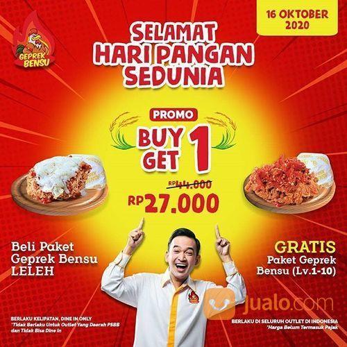 Geprek Bensu PROMO BELI 1 GRATIS 1 GEPREK BENSU (28566907) di Kota Jakarta Selatan
