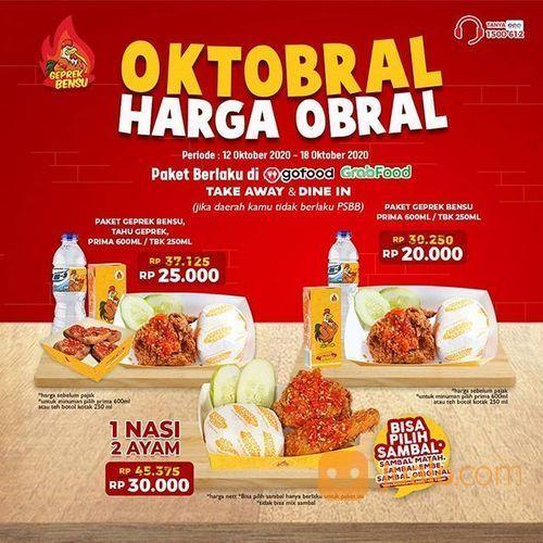 Geprek Bensu PROMO OKTOBRAL Geprek Bensu Harga Obral (28568183) di Kota Jakarta Selatan