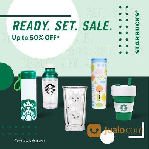 Starbucks official merchandise collection! Nikmati potongan hingga 50%* (28568631) di Kota Jakarta Selatan