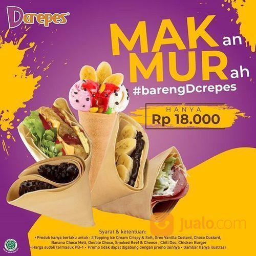Dcrepes Promo MakMUR Makan Murah Rp 18.000* ! (28569303) di Kota Jakarta Selatan