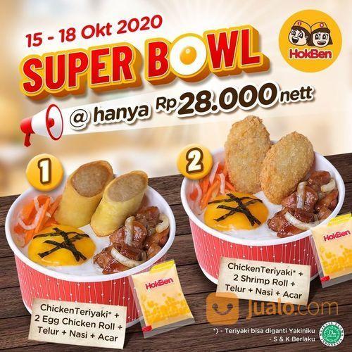 HokBen Hari KAMIS saatnya promo SUPER BOWL! (28569467) di Kota Jakarta Selatan