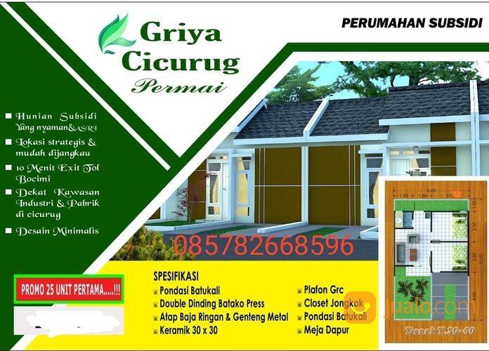 Rumah Lokasi Strategis, Dp Murah, Harga Murah. Di Sukabumi (28579415) di Kab. Sukabumi