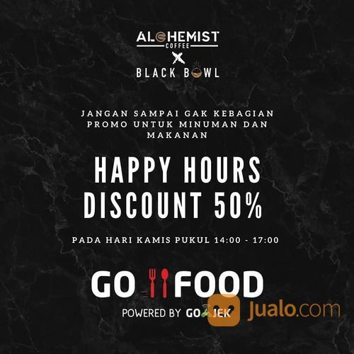 Alchemist Kopi Samarinda PROMO 50% KHUSUS KALIAN PELANGGAN GOFOOD* (28585507) di Kota Jakarta Selatan