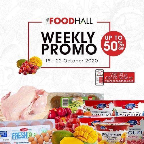 The Food Hall Weekly Promo Up To 50% Off (28595527) di Kota Jakarta Selatan