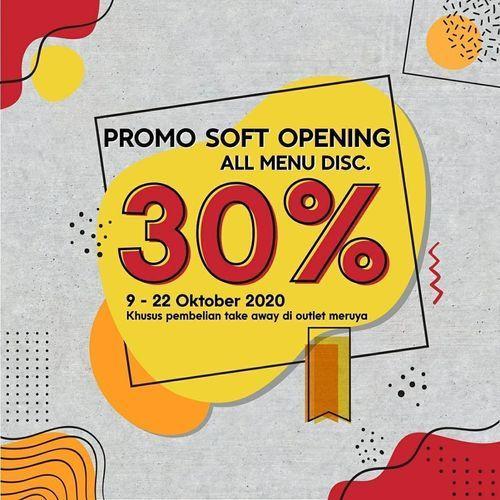 Kopi Wara Wiri Promo Soft Opening 30% Off (28595643) di Kota Jakarta Selatan