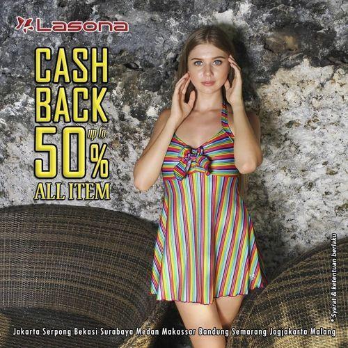 Lasona Cashback Up To 50% All Item (28606967) di Kota Jakarta Selatan