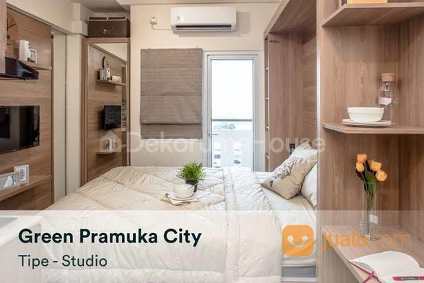 APARTEMEN STUDIO GREEN PRAMUKA CITY HARGA MURAH FASILITAS LENGKAP LOKASI JAKARTA PUSAT (28627003) di Kota Jakarta Pusat
