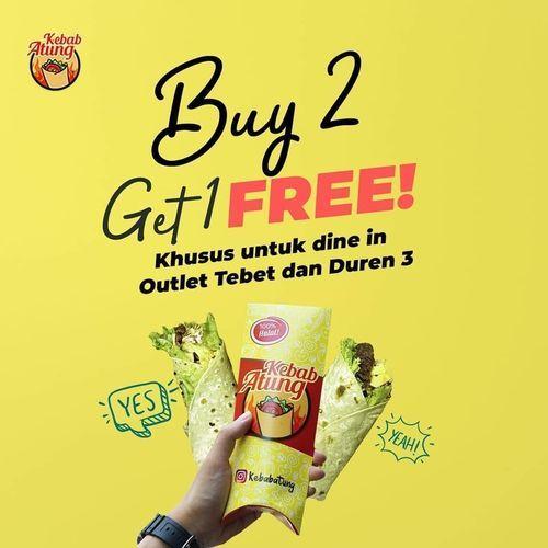 Kebab Atung Buy 2 Get 1 Free (28636635) di Kota Jakarta Selatan