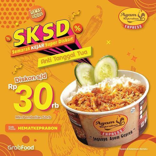 Ayam Keprabon Promo SKSD Discount 30% (28636811) di Kota Jakarta Selatan