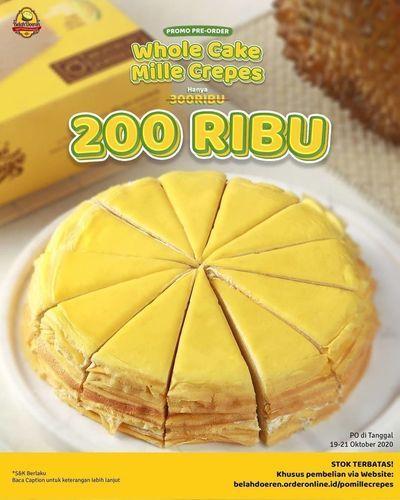 Belah Doeren Promo Whole Cake Only 200 Ribu (28636815) di Kota Jakarta Selatan