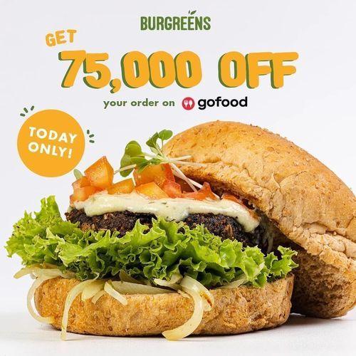Burgreens Get 75.000 Off (28636823) di Kota Jakarta Selatan
