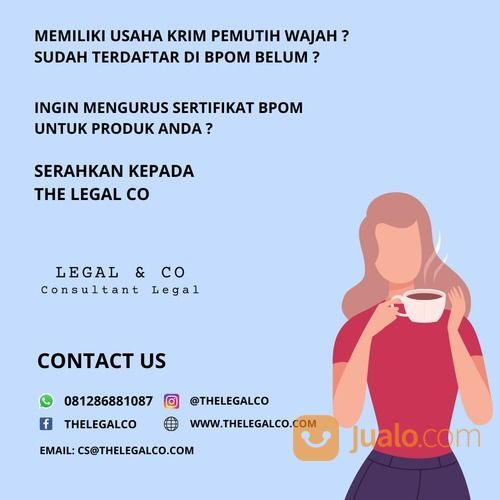 BPOM Krim Pemutih Wajah I Jasa Murah (28649079) di Kota Jakarta Selatan