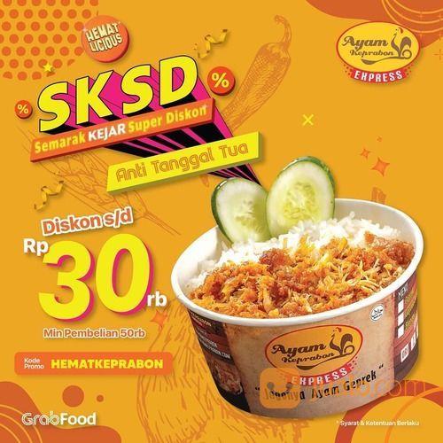 Ayam Keprabon Diskon hingga 30.000 untuk semua menu Ayam Keprabon dengan minimal order 50.000* (28657167) di Kota Jakarta Selatan