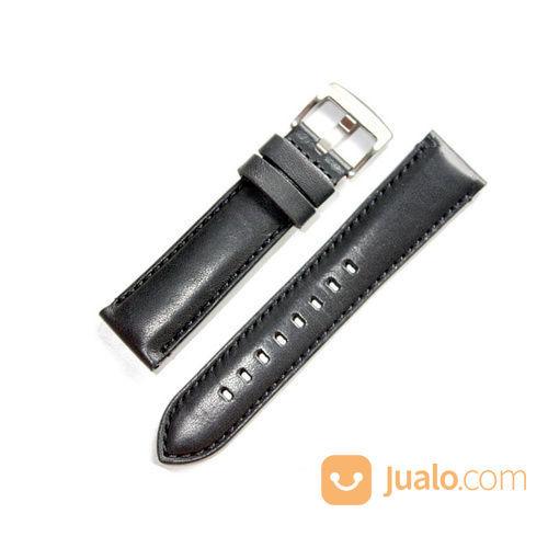 Tali Jam Tangan Kulit Asli Sapi Warna Hitam Garansi 1 Tahun - Watch Strap (28661979) di Kab. Pemalang
