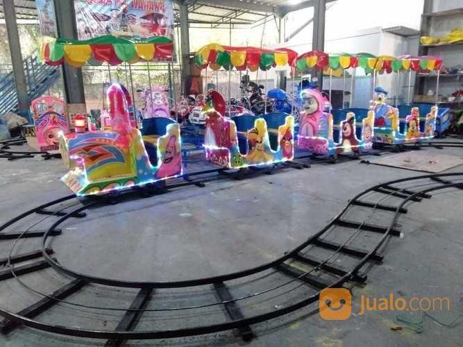 Odong Odong Kereta Lantai Rell Bawah Kondisi Baru Murah (28662167) di Kab. Sumbawa