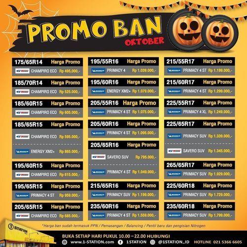 1 Station Promo Ban Oktober (28671435) di Kota Jakarta Selatan