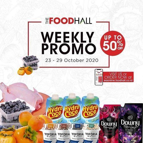 The Food Hall Weekly Promo Oktober Up To 50% Off (28673587) di Kota Jakarta Selatan