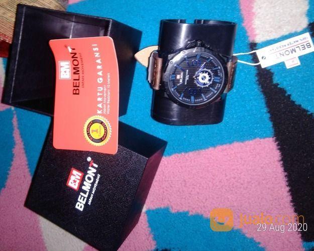 Jam Tangan Pria Sporty Original Belmont Bm 7002 Bonus Box Dan Masker (28682463) di Kota Bekasi