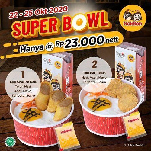 HokBen Super Bowl Hanya Rp. 23.000 (28697011) di Kota Jakarta Selatan