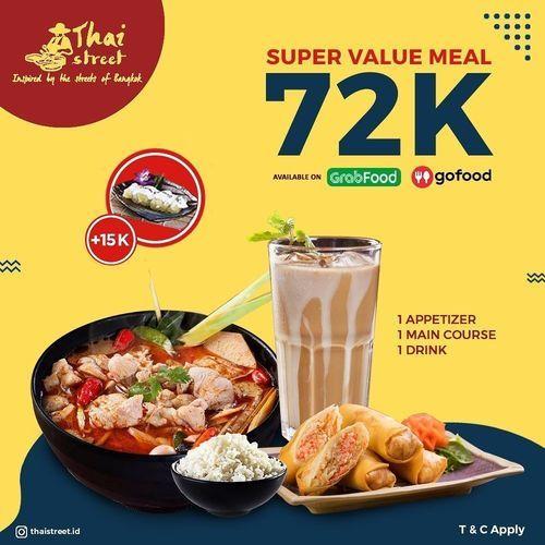 Thai Street Super Value Meal 72K (28697039) di Kota Jakarta Selatan
