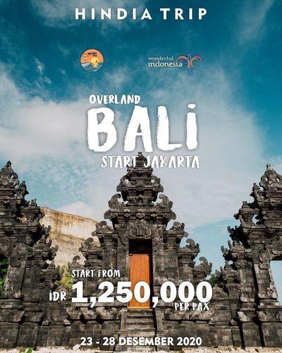 Hindiatrip Overland Bali Rp. 1.250.000 (28697163) di Kota Jakarta Selatan