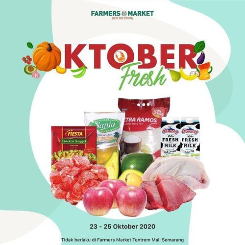 Farmers Market Oktober Fresh Offers (28697167) di Kota Jakarta Selatan
