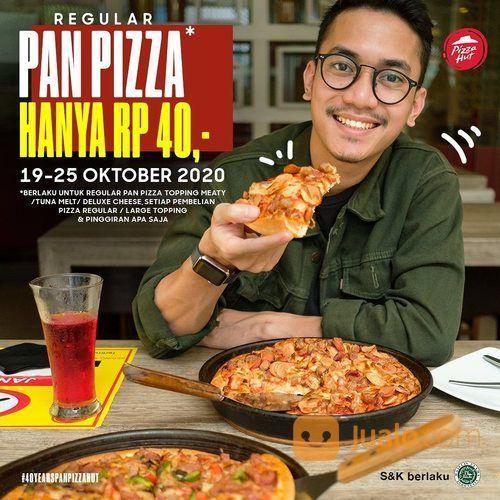Pizza Hur Nikmati Regular PAN Pizza dengan harga Rp40,- di #PizzaHutRestoran!* (28697503) di Kota Jakarta Selatan