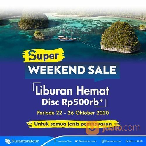 Nusantara Tour Promo Super Weekend Sale dari @nusantara_tour (28698423) di Kota Jakarta Selatan