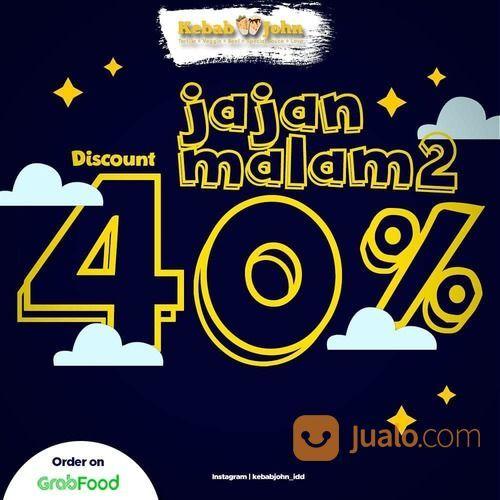 Kebab John Jajan Malam2 Discount 40% (28699707) di Kota Bogor