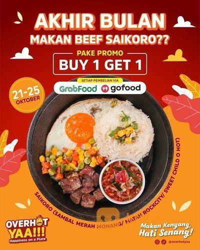 Overhot Yaa PROMO BUY 1 GET 1 FREE cek di GoFood / GrabFood! (28699751) di Kota Bandung