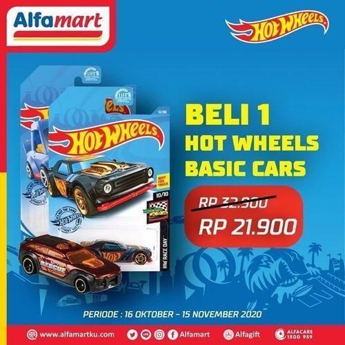 Alfamart 1 Hot Wheels Basic Cars Only Rp 21 900 Jakarta Selatan Jualo